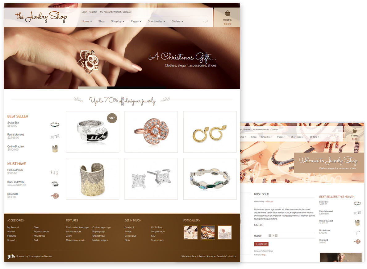 The Jewerly theme